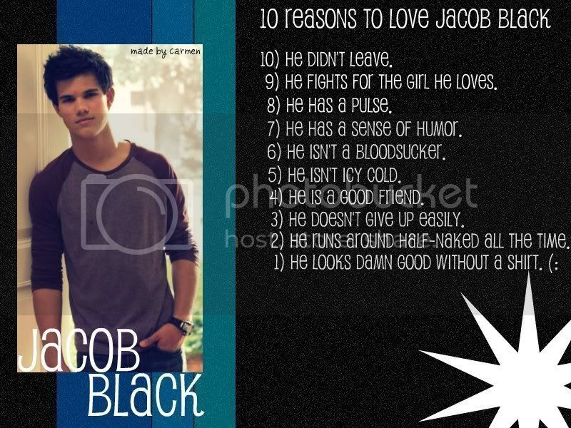 10 Reasons to love Jacob Black Pictures, Images and Photos
