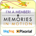 Memories in Motion Badge